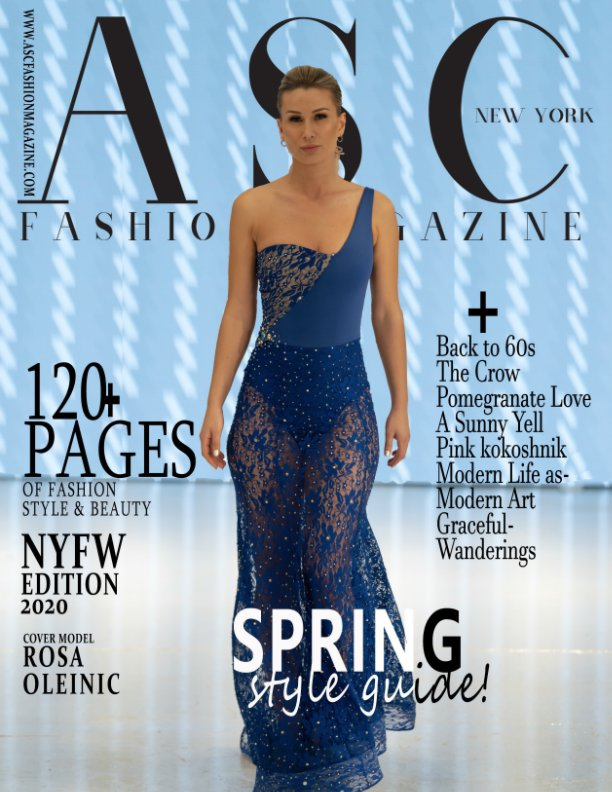 View New York Fashion week by ASC PRODUCTIONS INC