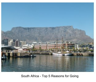 South Africa - Top 5 Reasons for Going book cover