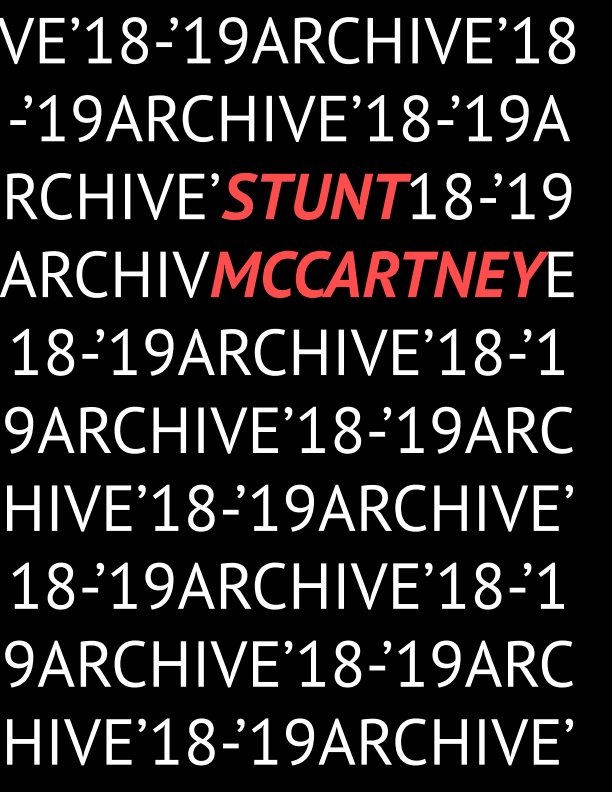View Archive '18 - '19 by Stunt McCartney