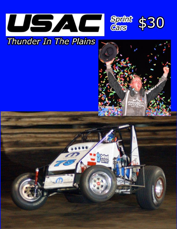 View USAC Sprints: Thunder In The Plains by Jeff Bylsma