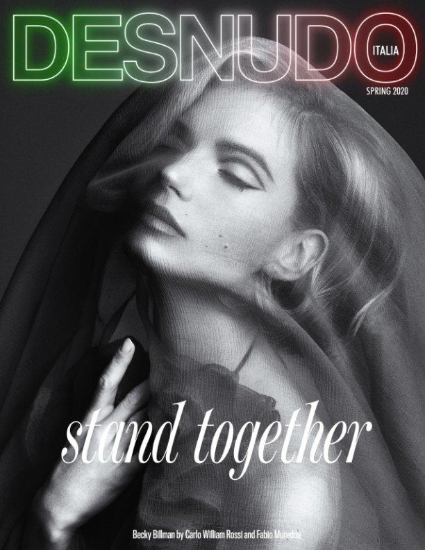 View Desnudo Magazine Italia Issue 6 - Becky Billman Cover by Desnudo Magazine Italia