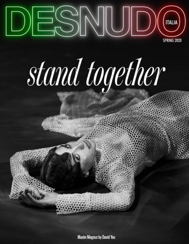 View Desnudo Magazine Italia Issue 6 - Maxim Magnus Cover by Desnudo Magazine Italia