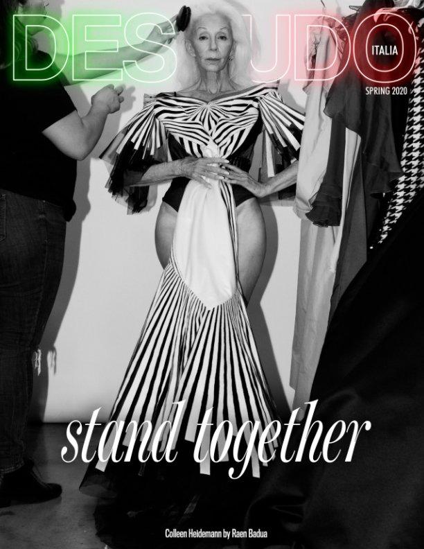View Desnudo Magazine Italia Issue 6 - Colleen Heidemann Cover by Desnudo Magazine Italia