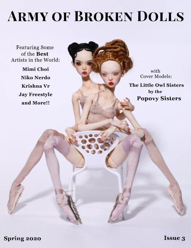 View Army of Broken Dolls-Spring 2020-Issue 3 by Scarlett DeWinters
