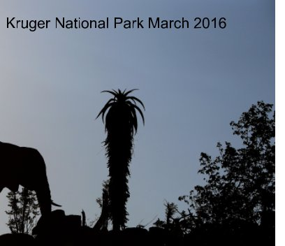 Kruger National Park  2016 book cover