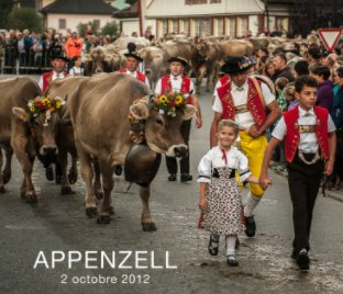 Appenzell 2 octobre 2012 book cover