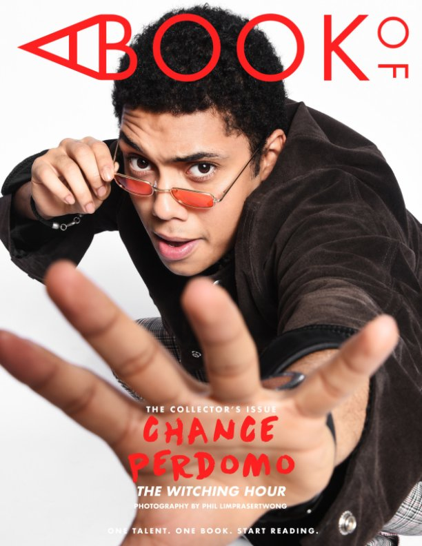 View A BOOK OF Chance Perdomo by A BOOK OF Magazine