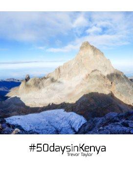 #50daysinkenya book cover