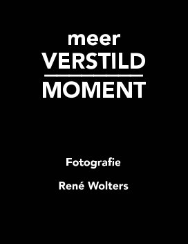 meer VERSTILD MOMENT book cover