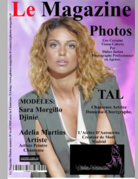 Le Magazine-Photos de Avril 2020 avec la Chanteuse Tal book cover