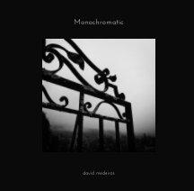 Monochromatic book cover