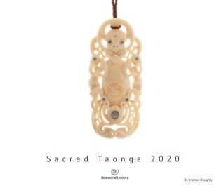 Sacred Taonga 2020 book cover