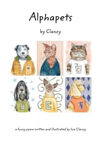 Alphapets by Clancy book cover