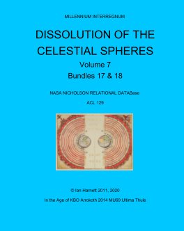 Dissolution of the Celestial Spheres 17, 18 book cover