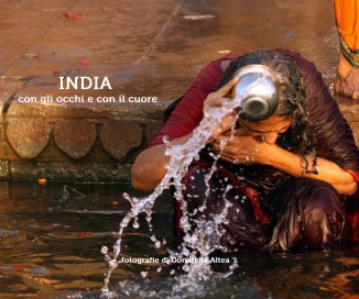 INDIA con gli occhi e con il cuore book cover