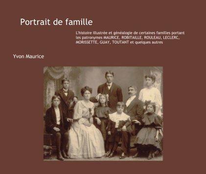 Portrait de famille (4e édition) book cover