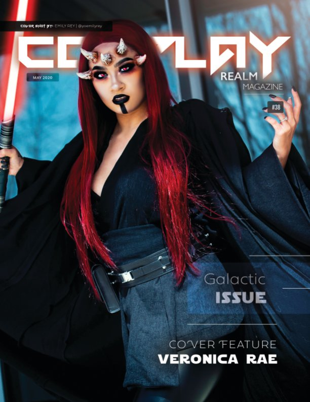 View Cosplay Realm Magazine No. 38 by Emily Rey, Aesthel