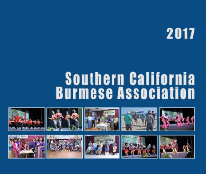 2017 Southern California Burmese Association book cover