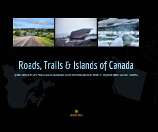 Roads, Trails and Islands of Canada book cover