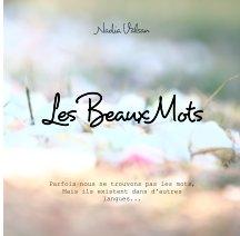 Les beaux mots book cover