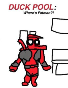 Duckpool: Where's Fatman book cover