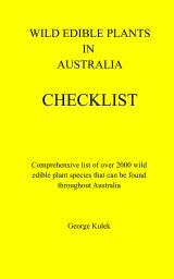 Wild Edible Plants in Australia Checklist book cover