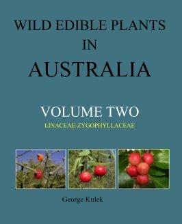wild edible plants in australia volume two book cover