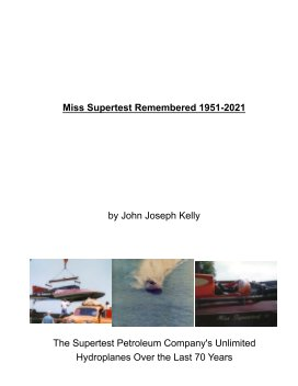Miss Supertest Remembered 1951-2021 book cover