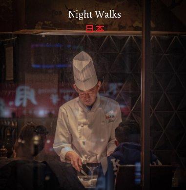 Night Walks Japan book cover