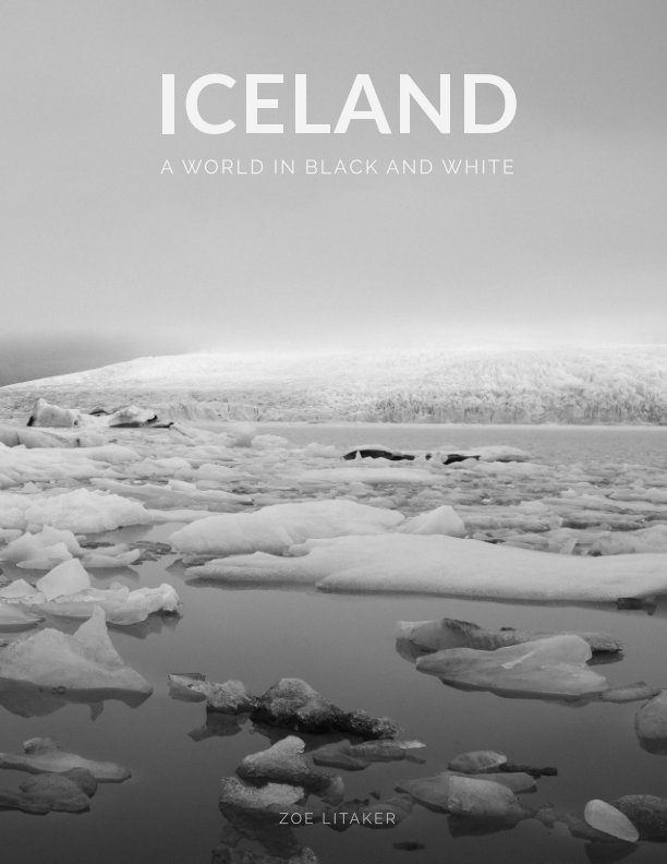 View Iceland - A World in Black and White by Zoe Litaker