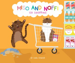 Miso and Noffi go shopping book cover