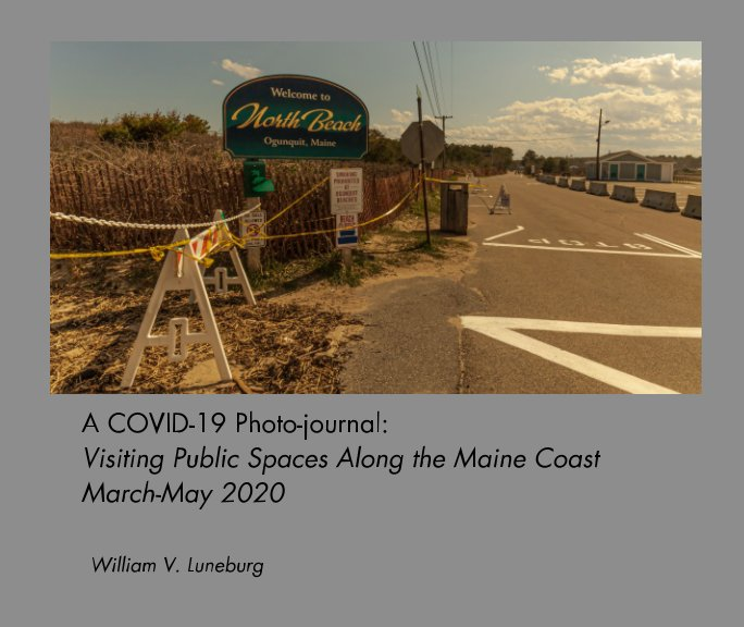 View A COVID-19 Photo-Journal by William V. Luneburg
