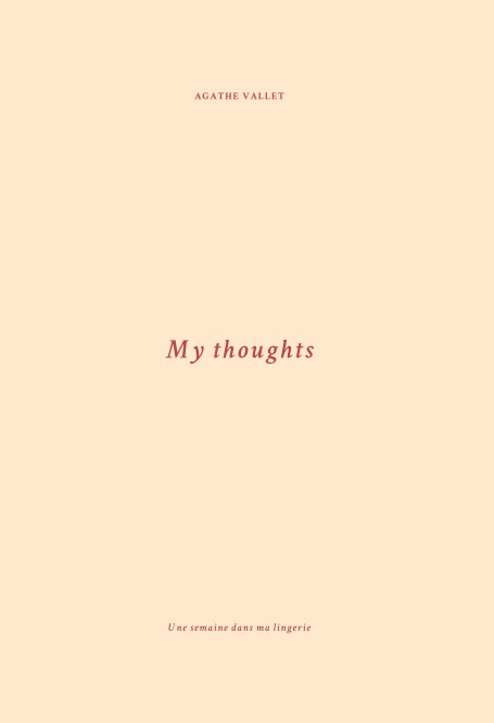 View My thoughts by Agathe VALLET