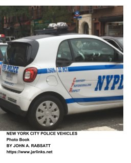New York City Police Vehicles book cover