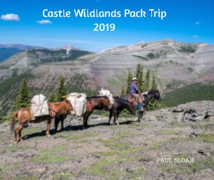 Castle Wildland Pack Trip 2019 book cover