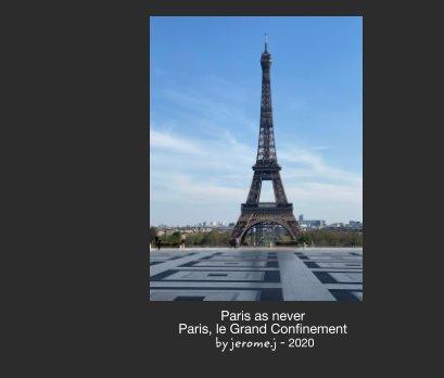 Paris as never book cover