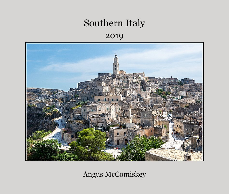 View Southern Italy by Angus McComiskey