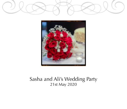 Sasha and Ali's Wedding Party book cover