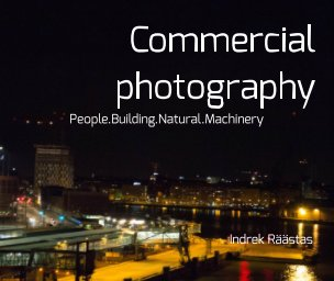 Commercial photography book cover