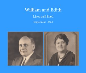 William and Edith - Supplement book cover