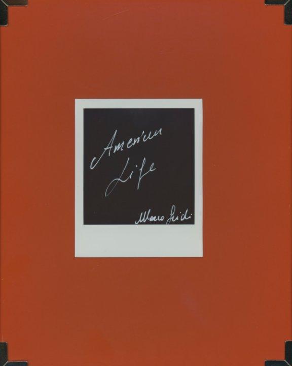 Visualizza American Life di Marco Guidi