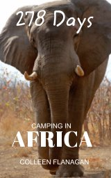 278 Days camping in Africa book cover