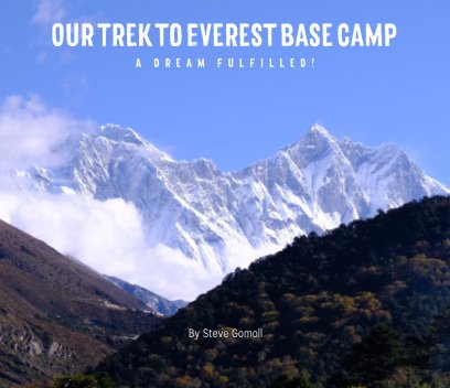 Our Trek to Everest Base Camp book cover