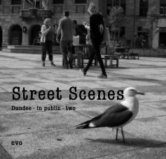 Street Scenes Dundee - in public - two book cover