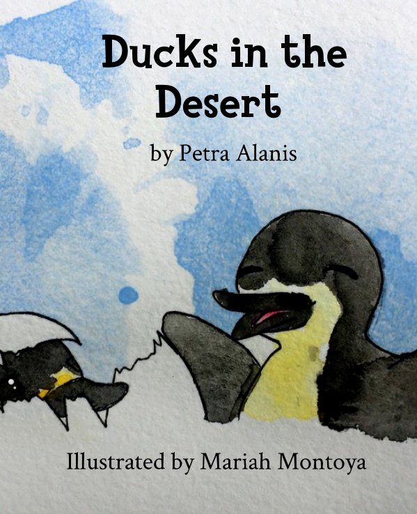 View Ducks in the Desert by Petra Alanis