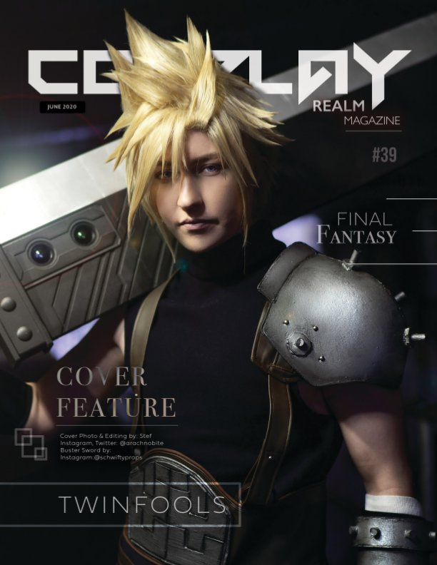 View Cosplay Realm Magazine No. 39 by Emily Rey, Aesthel