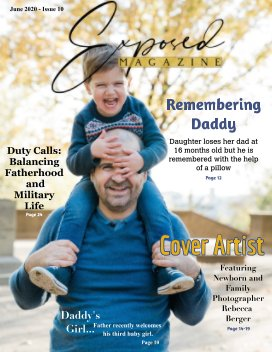 Father's Day June 2020 Issue 10 book cover