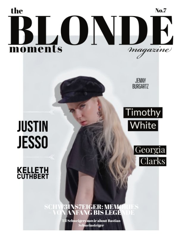 View The Blonde Moments Magazine/ N0.7 by Jenny Burgartz