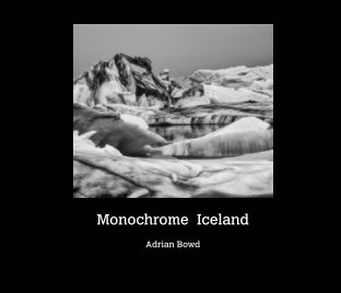 Monochrome Iceland book cover