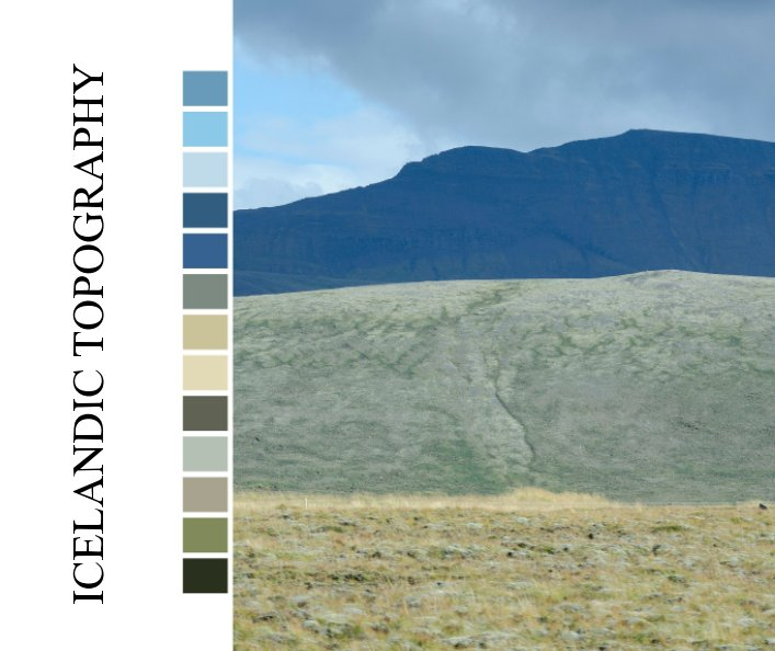 Visualizza Icelandic topography di Brynhild Bye-Tiller
